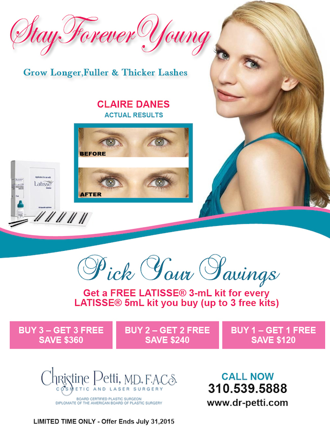 Latisse Promo - July 2015 Petti