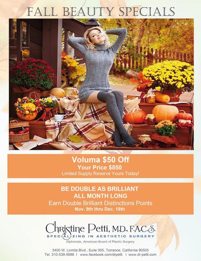 Fall Beauty Special