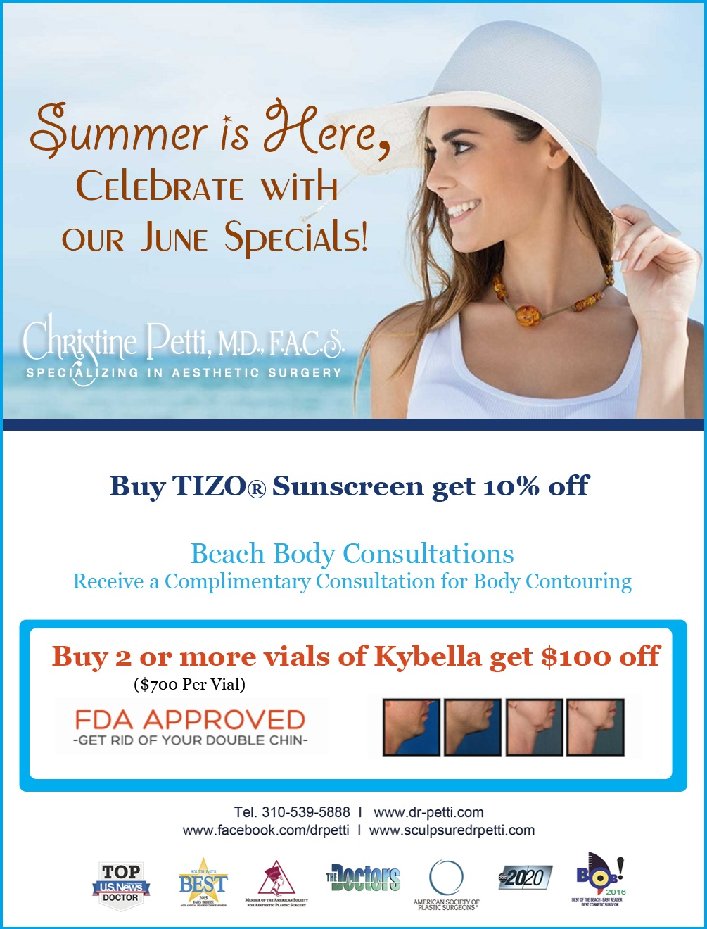 Summer 2016 Specials - DrPetti June