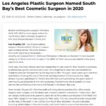 The annual Daily Breeze Readers' Choice survey names Los Angeles plastic surgeon Christine Petti, MD the South Bay's Best Cosmetic Surgeon in 2020